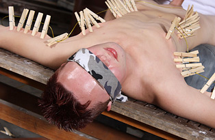 Blindfolded and Pegged!