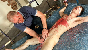 Hung Edwin Milked Of A Load