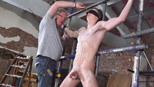 Fit New Boy Billy Gets Used