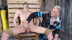 Draining The Cum From His Big Cock