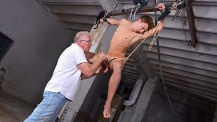 Ball-Tugging Cum Theft!