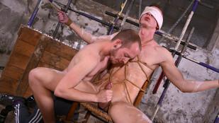 Blindfolded Boner Slurping