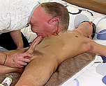Josh Tied And Wanked Till He Cums 4