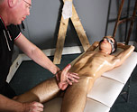 Sebastian Kane Strokes The Cum From Oli Jay 1
