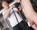 Roped Up And Wanked Off 1