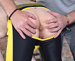 New Twink Spanked Red Raw! 2