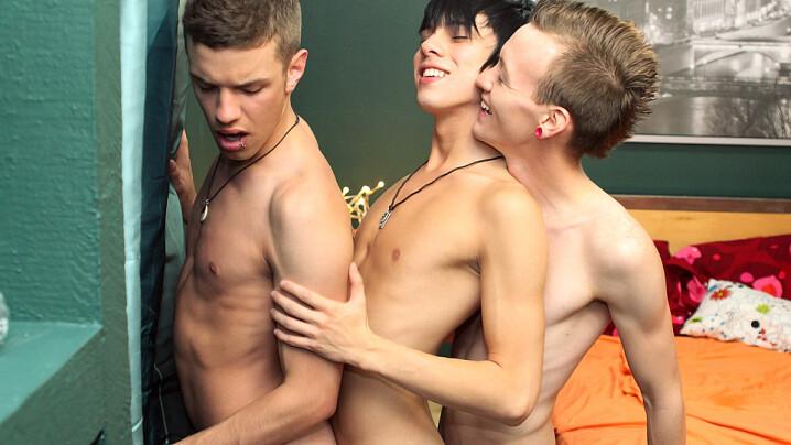Chris Jett, Kyler Moss & Ryan Sharp