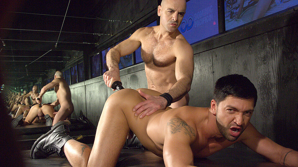 Anally Slammed By Adam! – Adam Russo And Dominic Pacifico