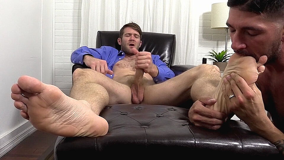 Gay male feet