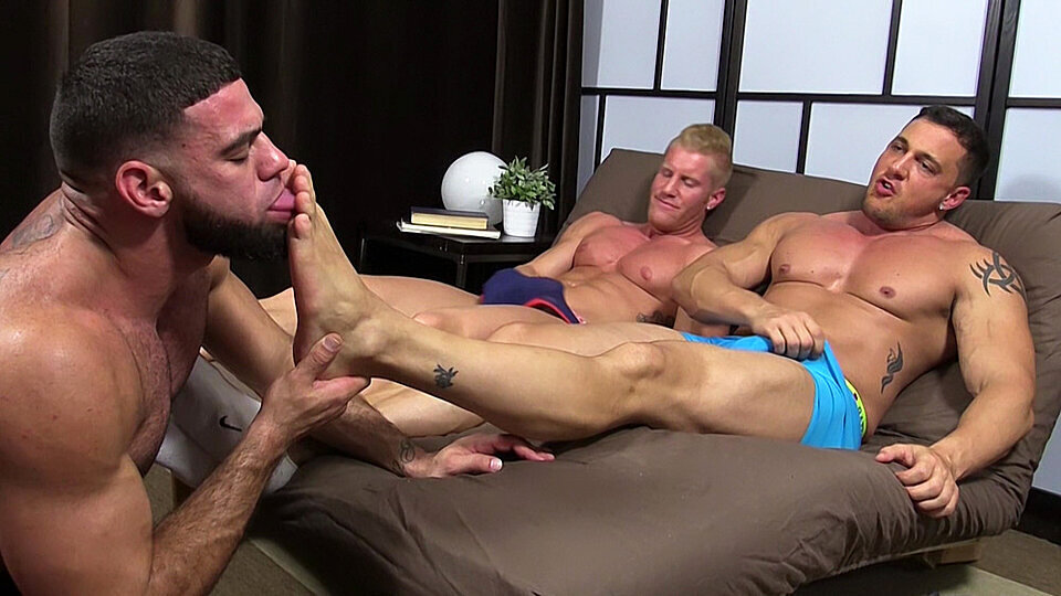 For more gay foot fetish clips, click Here!