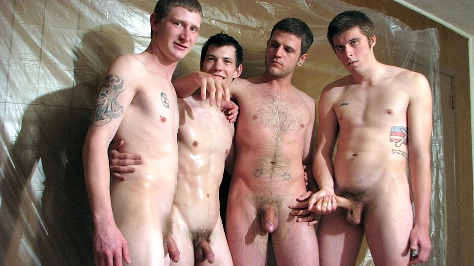 Foursome gay sex young twinks pissing on eatch other