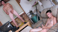 Jerking Off With Horny Straight Boys